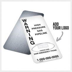 Custom Pipeline Sign