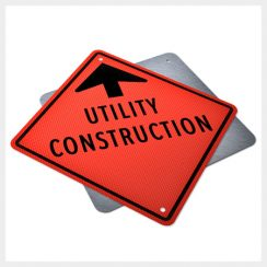 Utility Construction Ahead