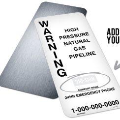 Pipeline Signage